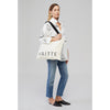 Yaitte CANVAS white tote