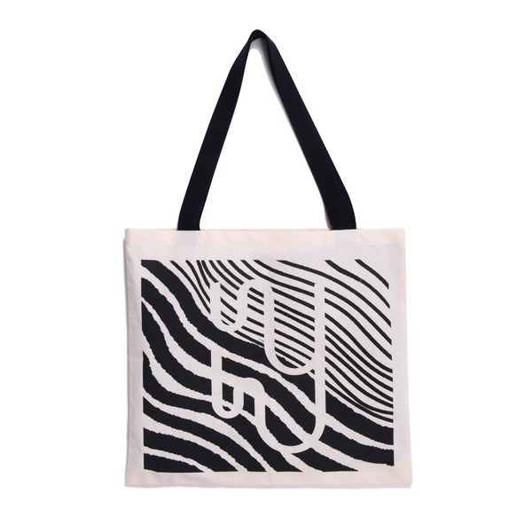 CANVAS - Off-White Branded Cotton Canvas Tote