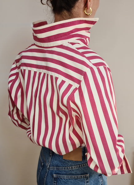 Pre-Order: BUOY - Red Striped Shirt