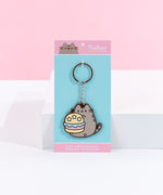 Pusheen 10th Anniversary Burger Keychain