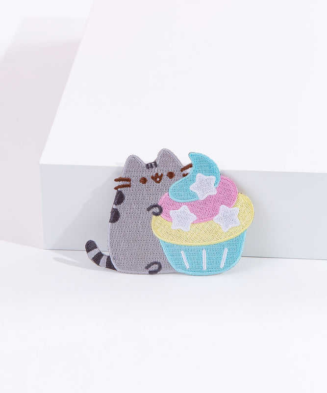 Pusheen 10th Anniversary Cupcake Patch