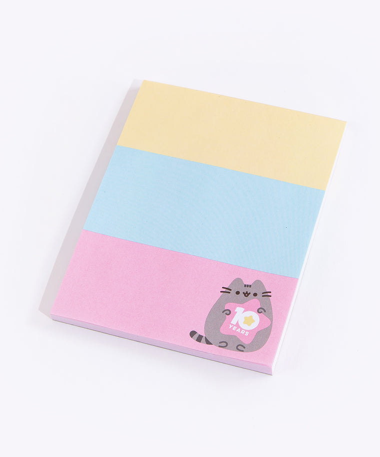 Pusheen 10th Anniversary Notepad