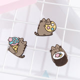 Pusheen 10th Anniversary Pin Set