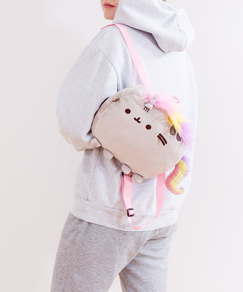 Pusheenicorn Plush Backpack
