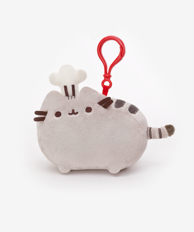 Baker Pusheen clip-on plush