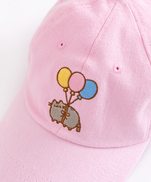 Balloon Pusheen Pink Cap