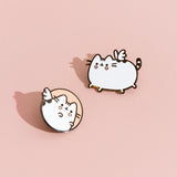 Bishop Briggs x Pusheen Pin Set