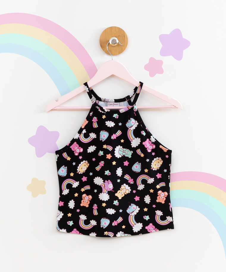 Care Bears x Pusheen Ladies Halter Top