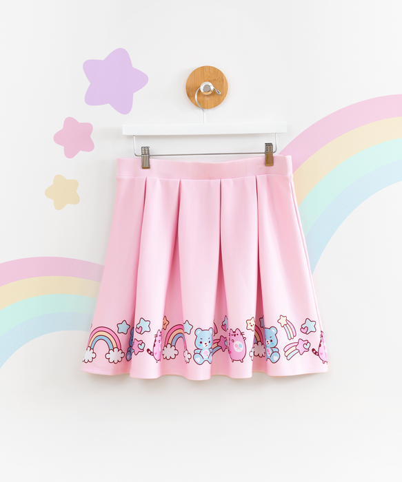 Care Bears x Pusheen Skirt