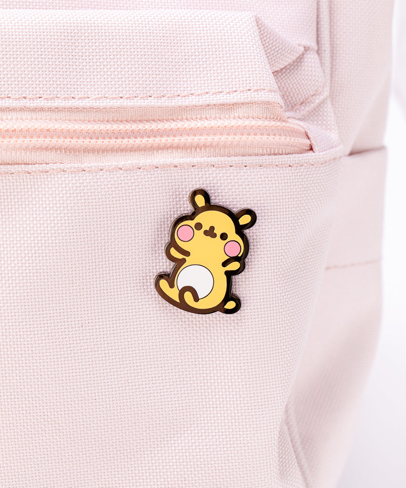 Cheek the Hamster Pin