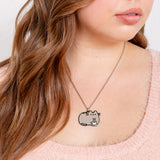 Coffee Pusheen Jewelry Set
