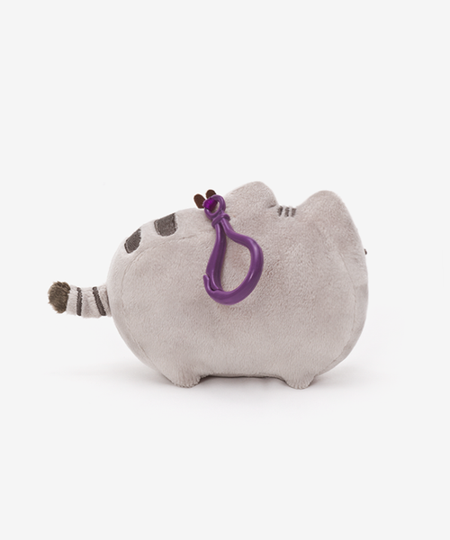 Cool Pusheen clip-on plush