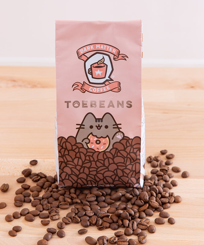 Pusheen x Dark Matter Toebeans Coffee