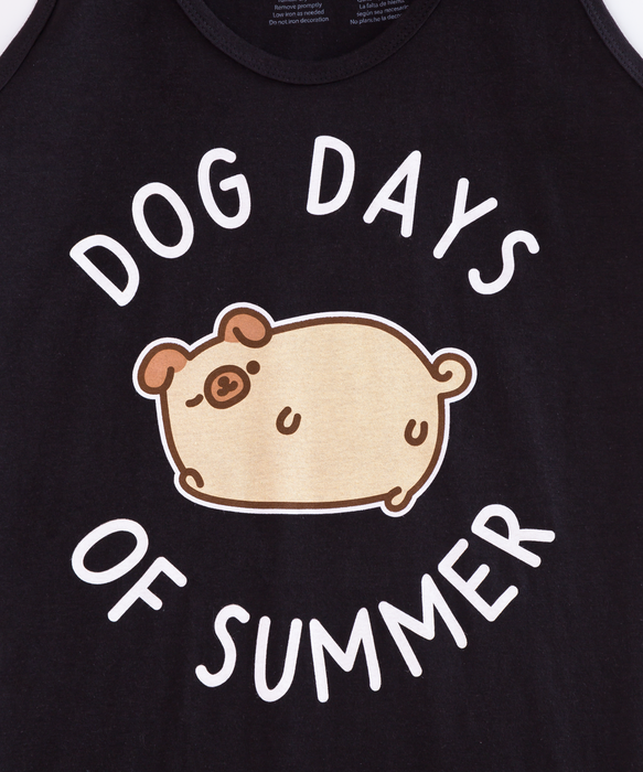 Pugsheen Dog Days Unisex Tank Top