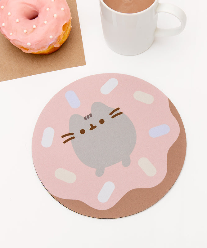Donut Pusheen Mouse Pad