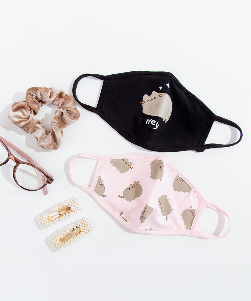 Pusheen Hey Face Mask