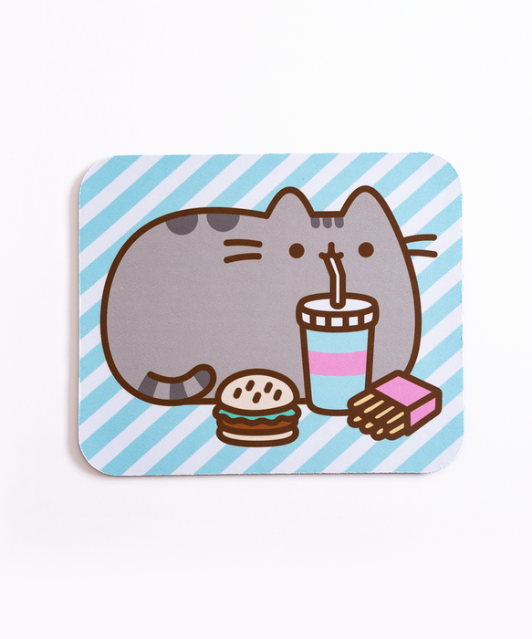 Pusheen Fast Food Mouse Pad