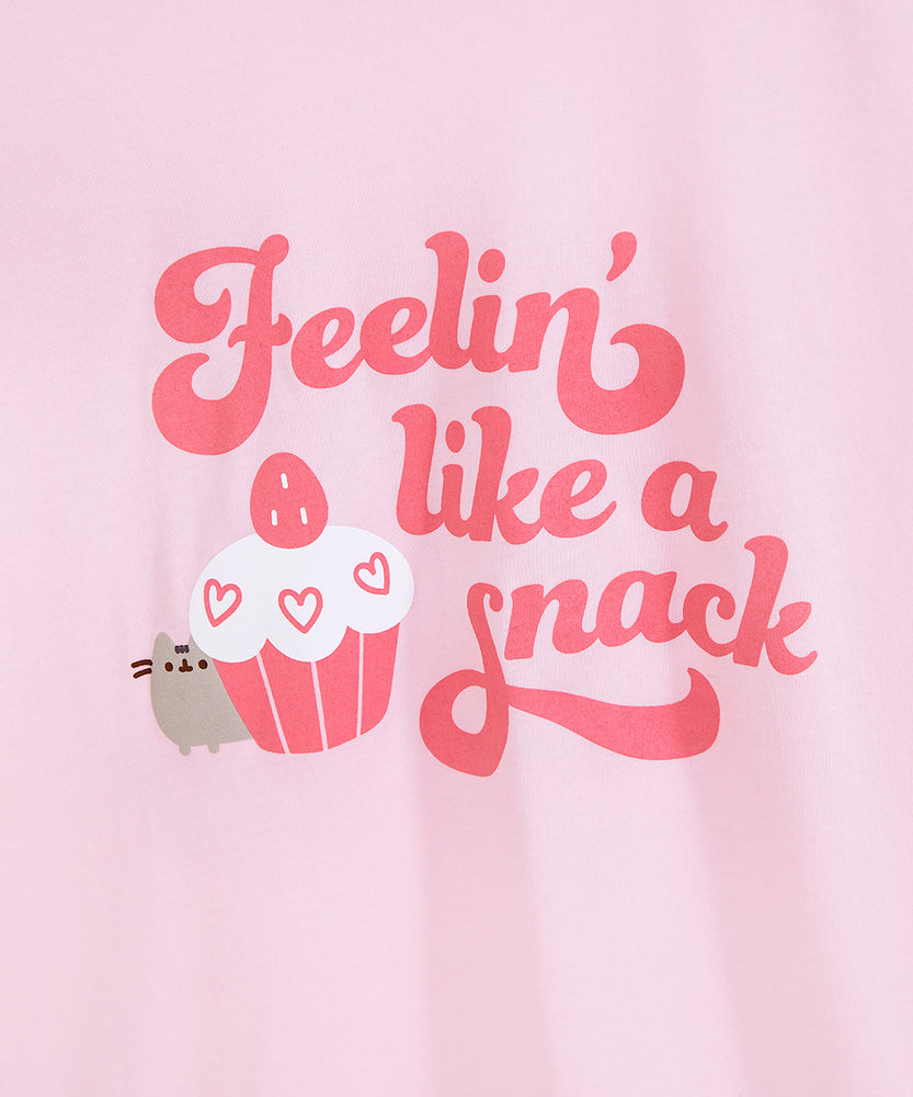 Pusheen Feelin' Like a Snack Unisex Tee