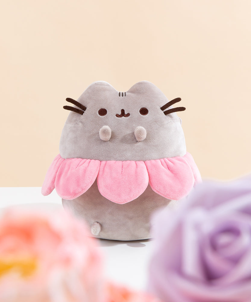 Pusheen Flower Petal Plush