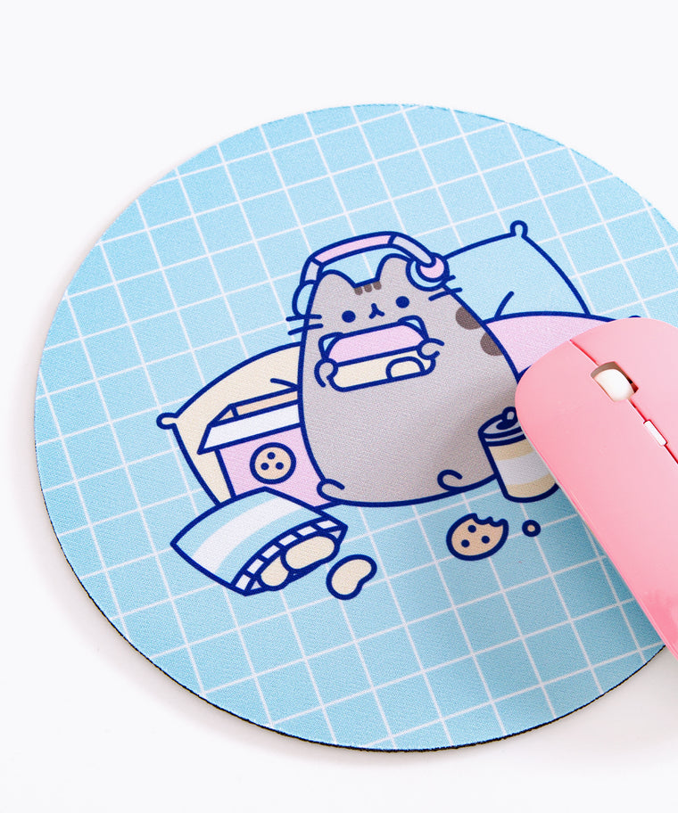 Gamer Pusheen Mouse Pad