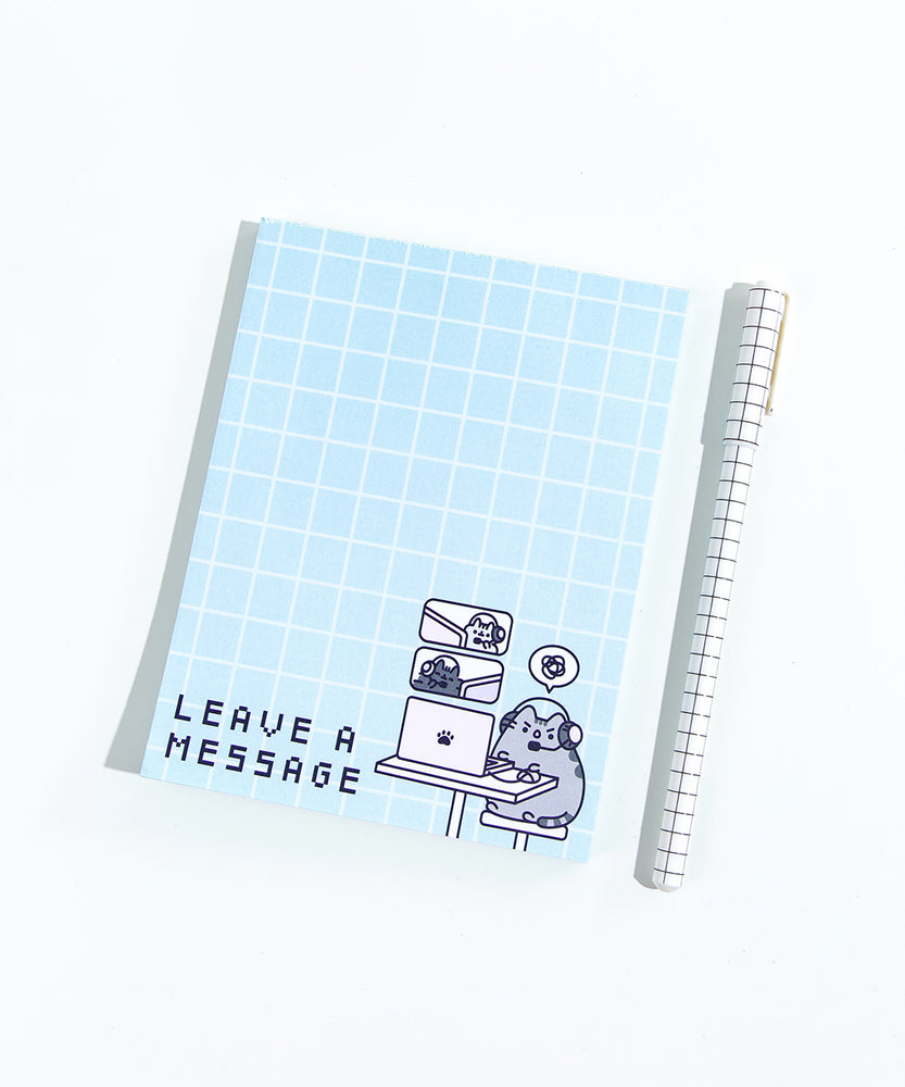 Gaming Pusheen Notepad