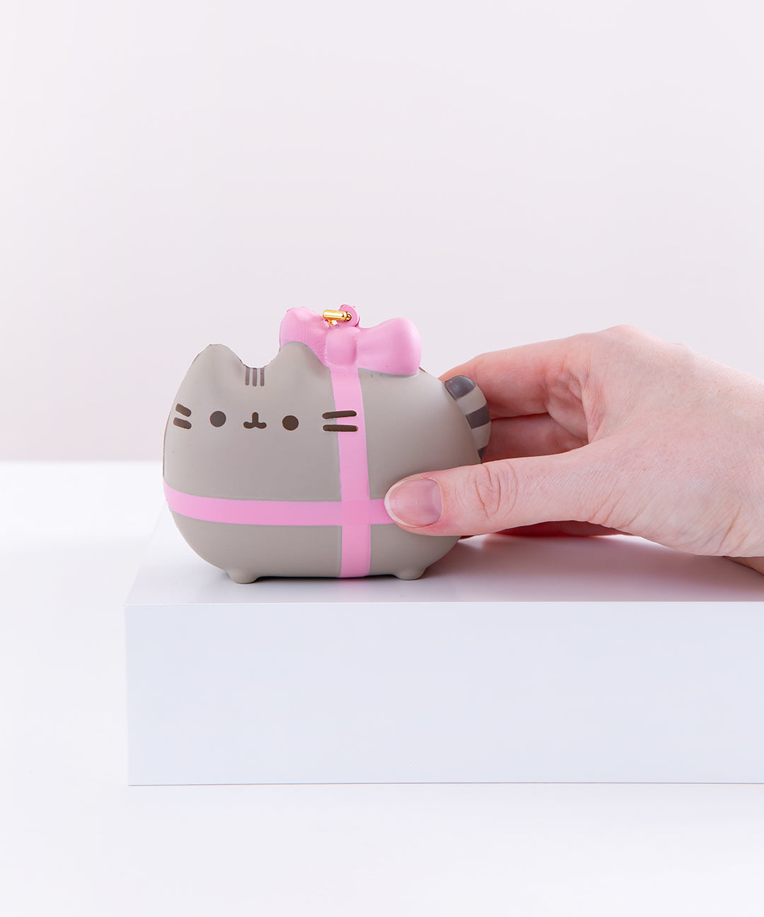 Gift Wrapped Pusheen Squishy