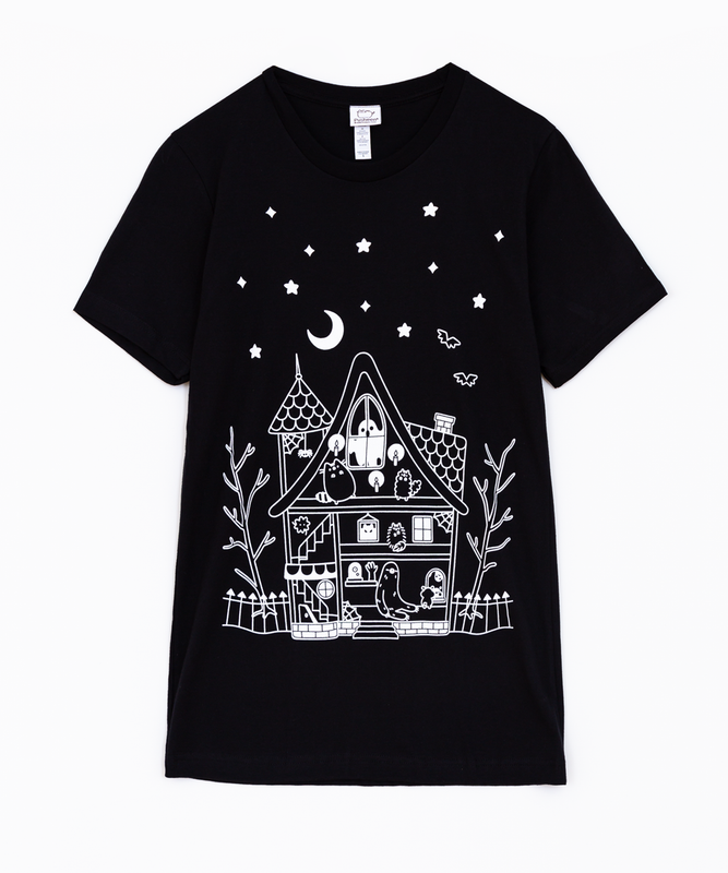 Haunted House Unisex Tee