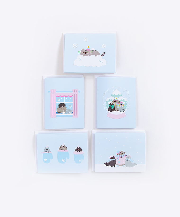 Pusheen Holiday Card Set