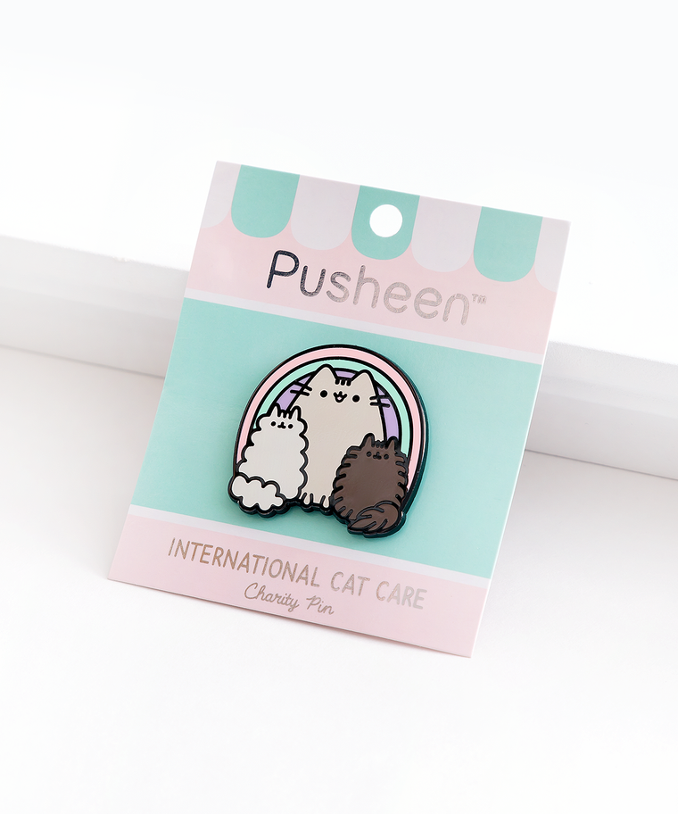 International Cat Care Charity Pin