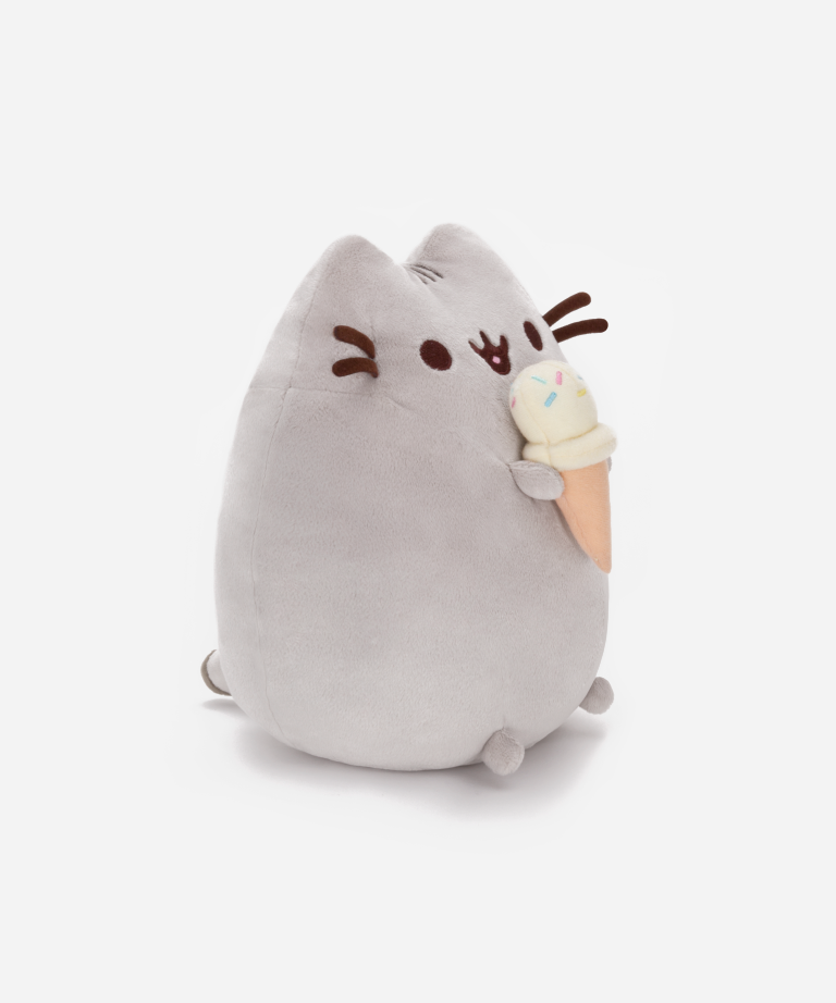 Ice Cream Pusheen Plush