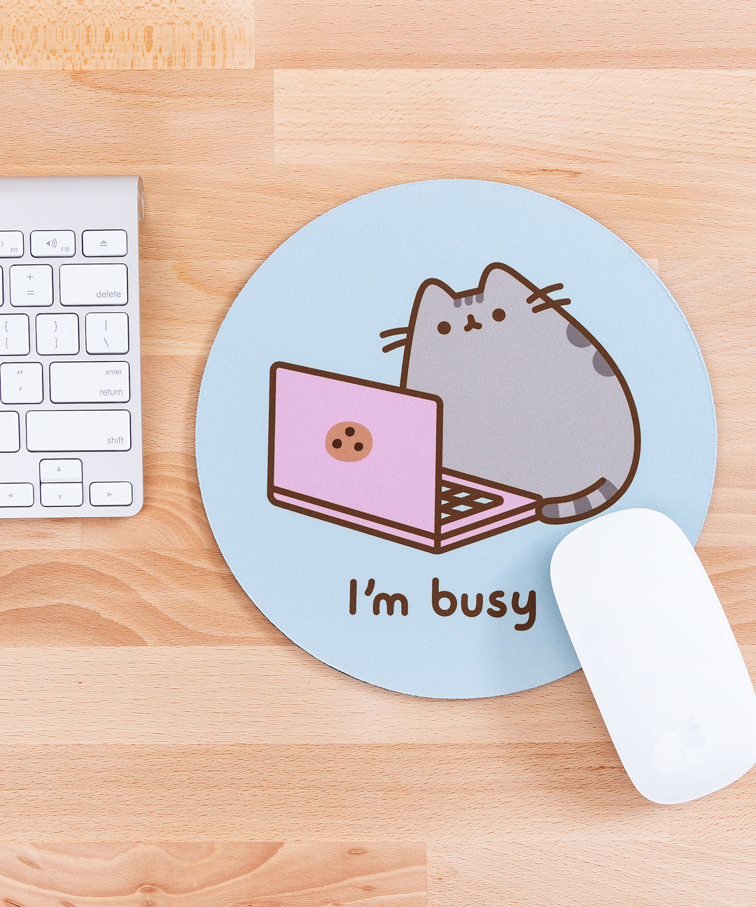 ... Pusheen I'm Busy Mouse Pad