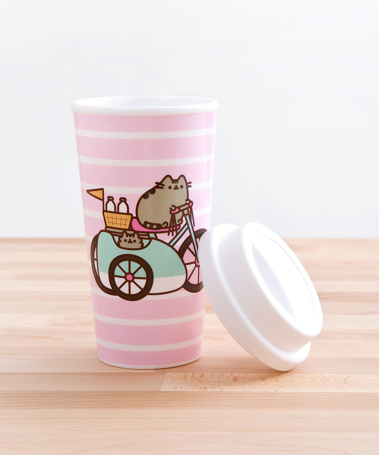 Pusheen Let's Go Travel Mug