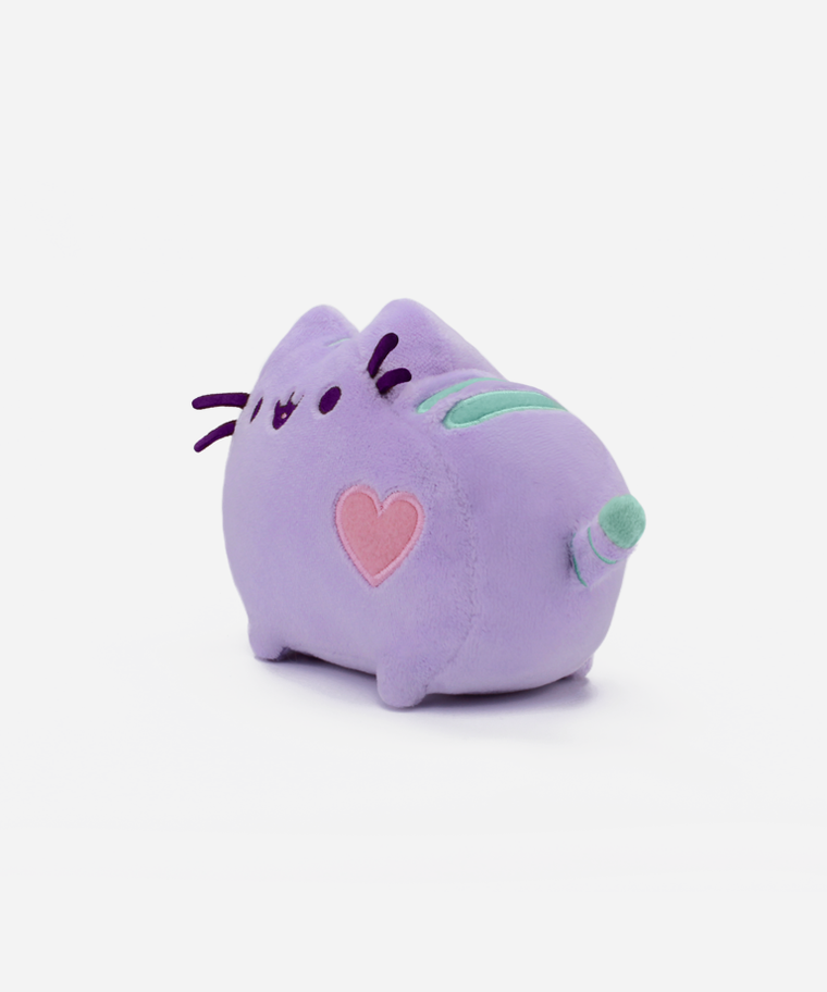 Mini Pastel Pusheen Plush Toy in Lilac