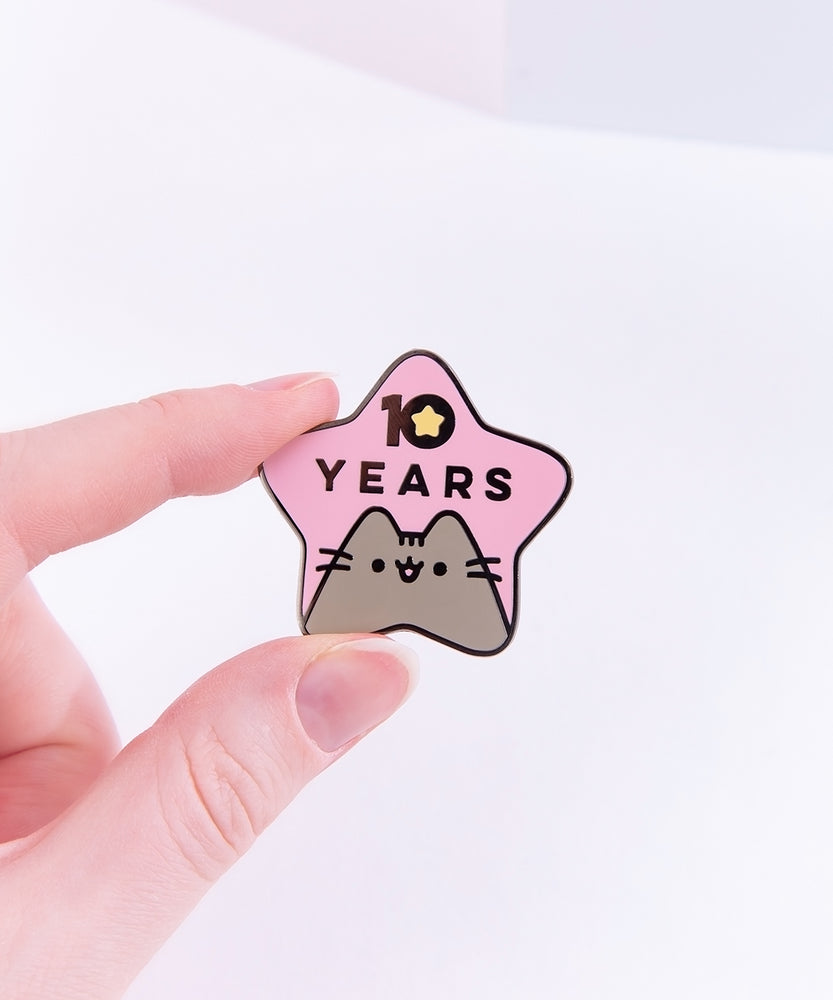 Pusheen 10th Anniversary Limited Edition Enamel Pin