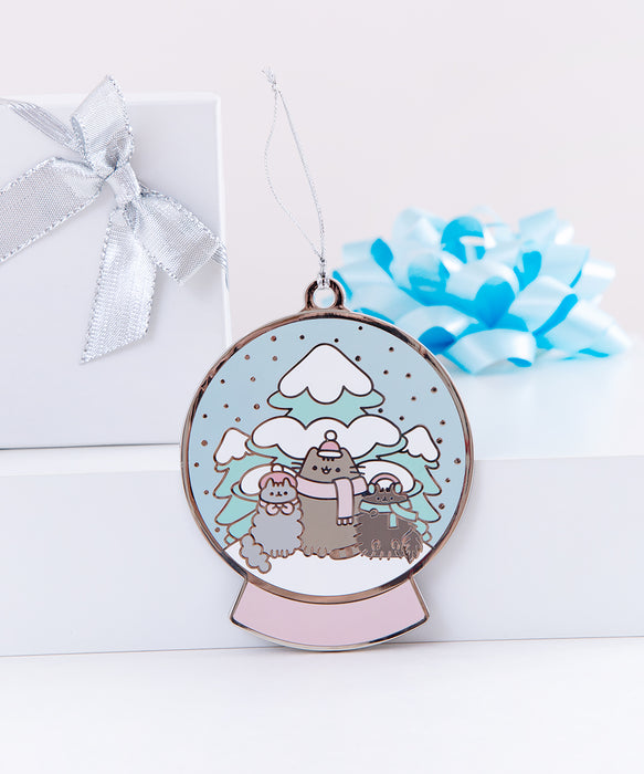 Limited Edition Pusheen Snowglobe Holiday Ornament
