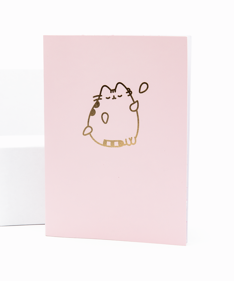 Pusheen Gold Foil Luxury Notebook