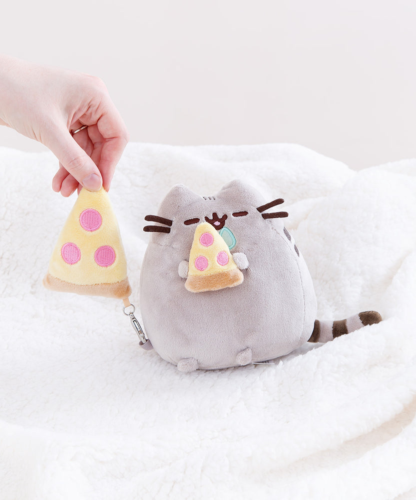 Mini Pizza Pusheen Plush