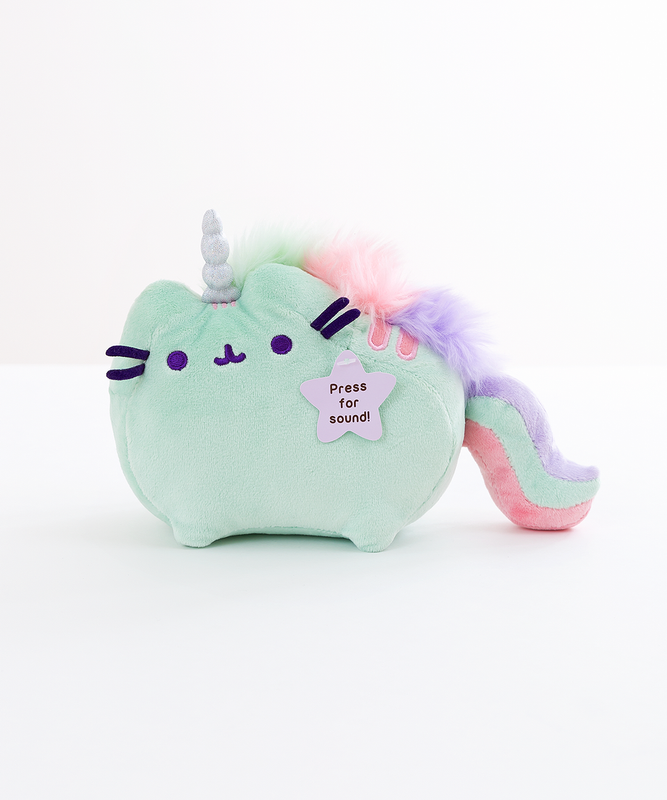 Mini Mint Pusheenicorn Musical Plush