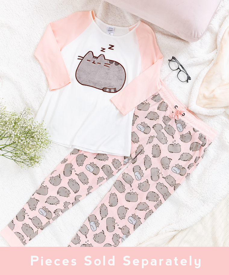 Pusheen Pink Pajama Set