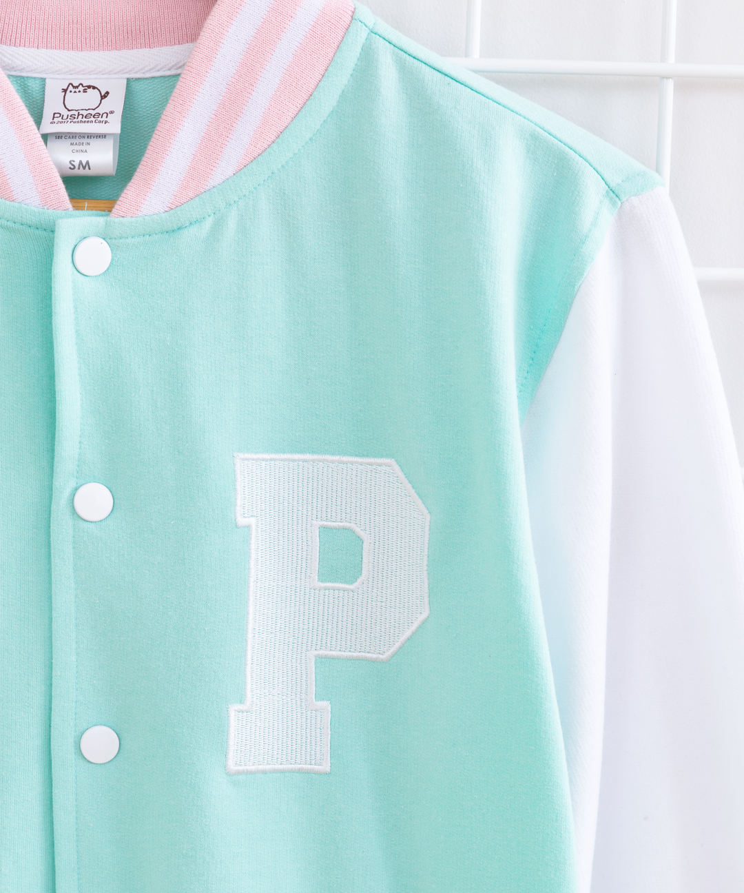 Pusheen Pastel Unisex Varsity Jacket Pusheen Shop