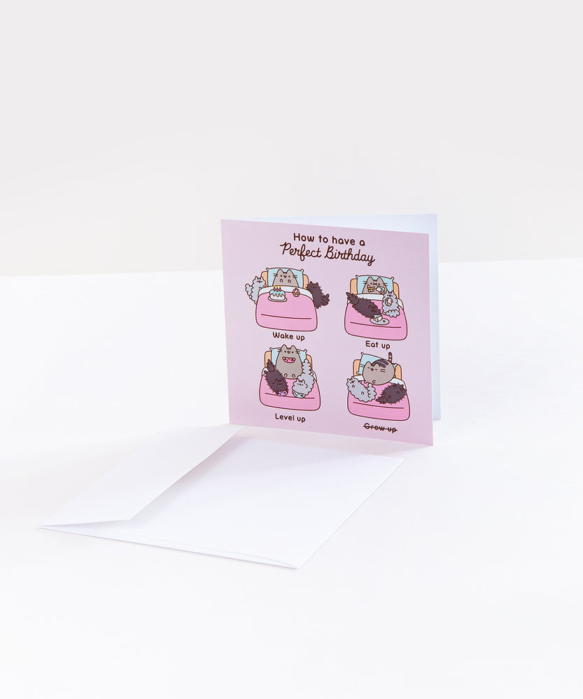 Pusheen Perfect Birthday Card