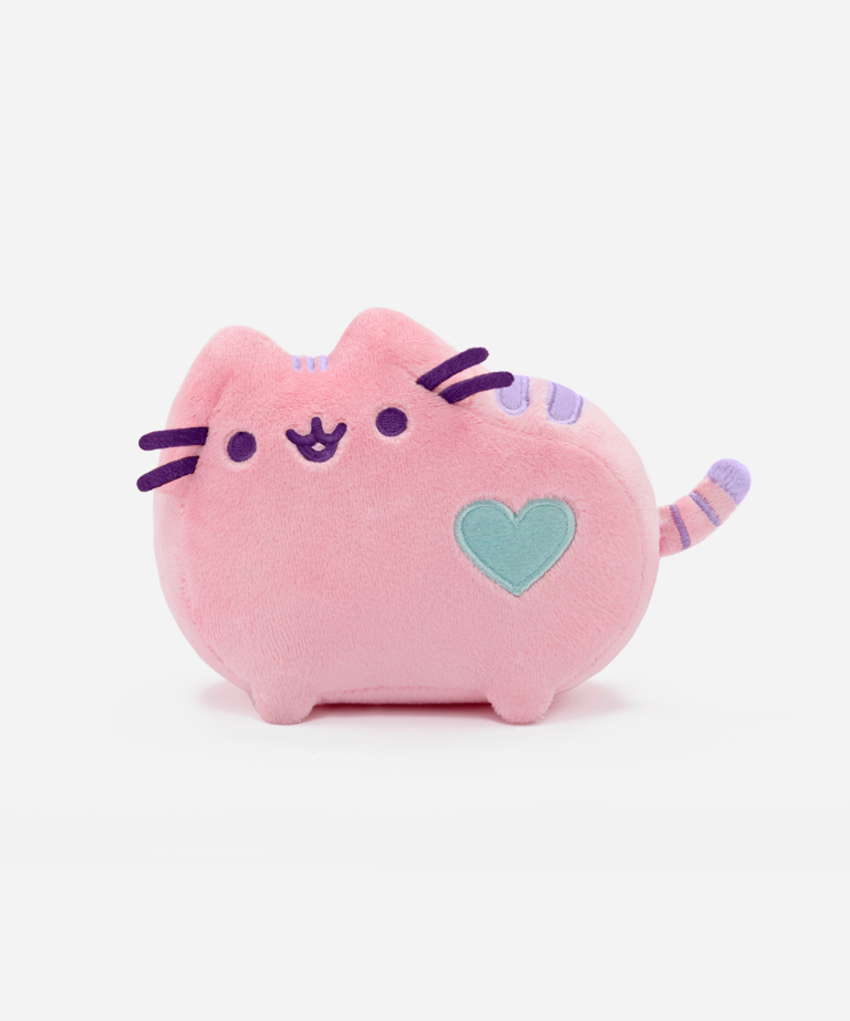 Mini Pastel Pusheen Plush Toy in Pink