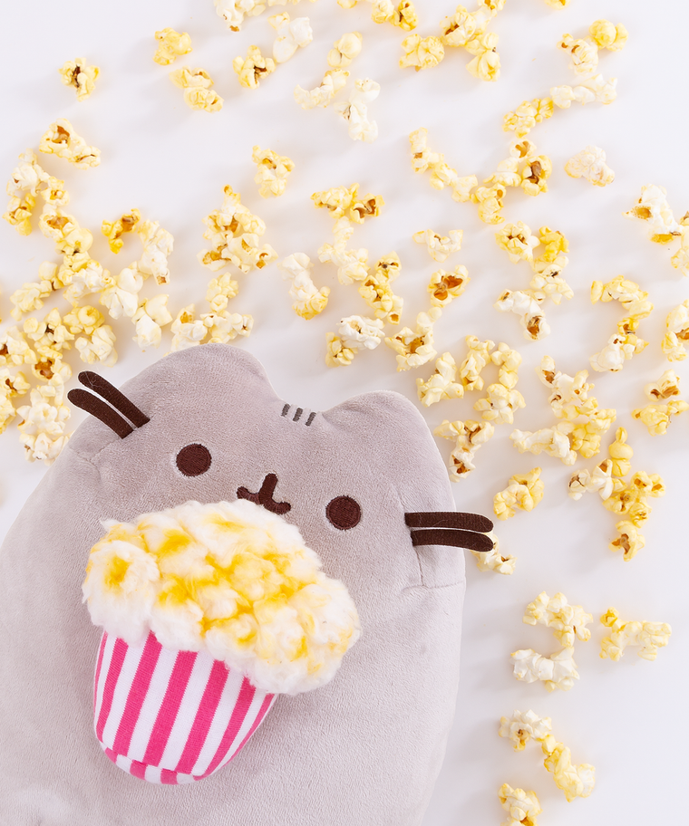 Popcorn Pusheen Plush Toy