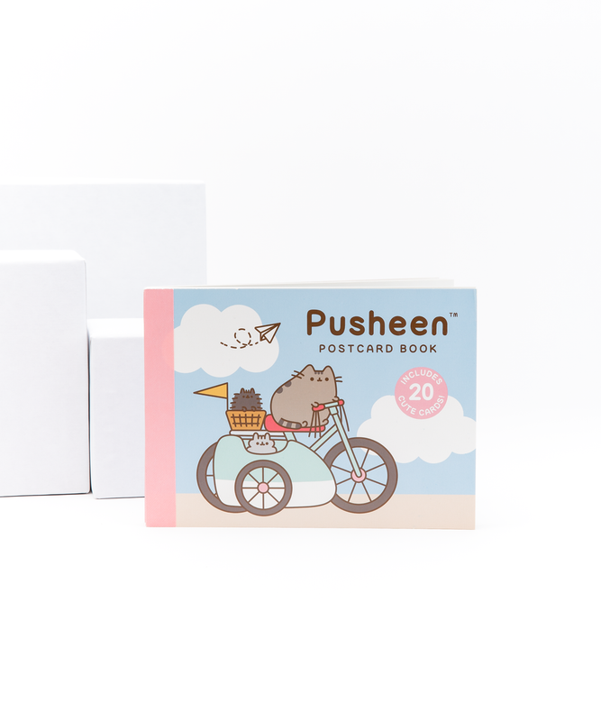Pusheen Postcard Book