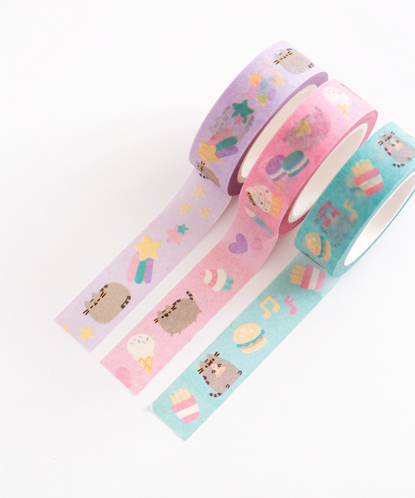 Pusheen Printed Tape Trio