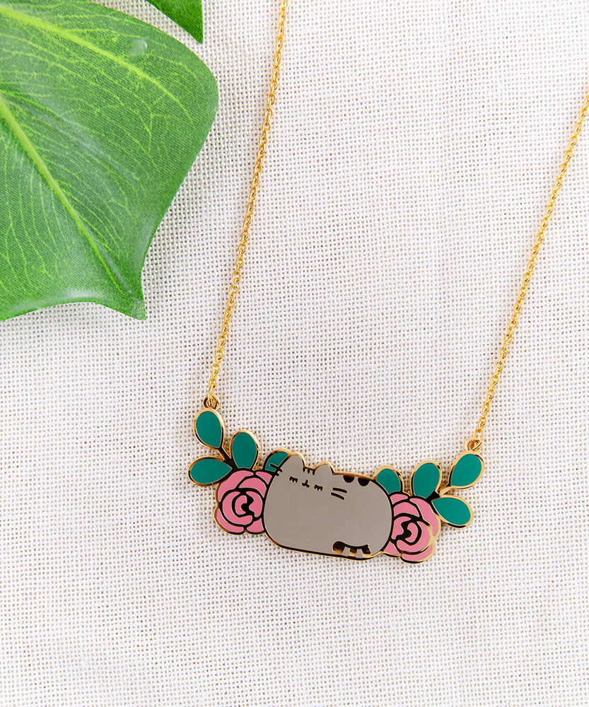Pusheen Blossom Necklace