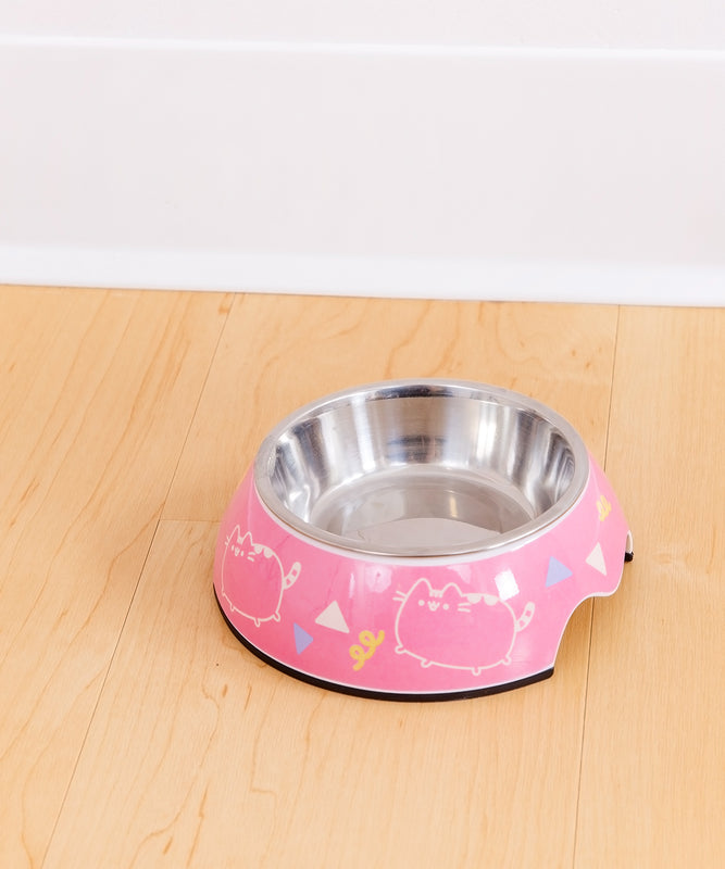 Pusheen Dance Party Pet Food Bowl Pusheen Shop