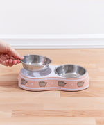 Pusheen Double Pet Food Bowl