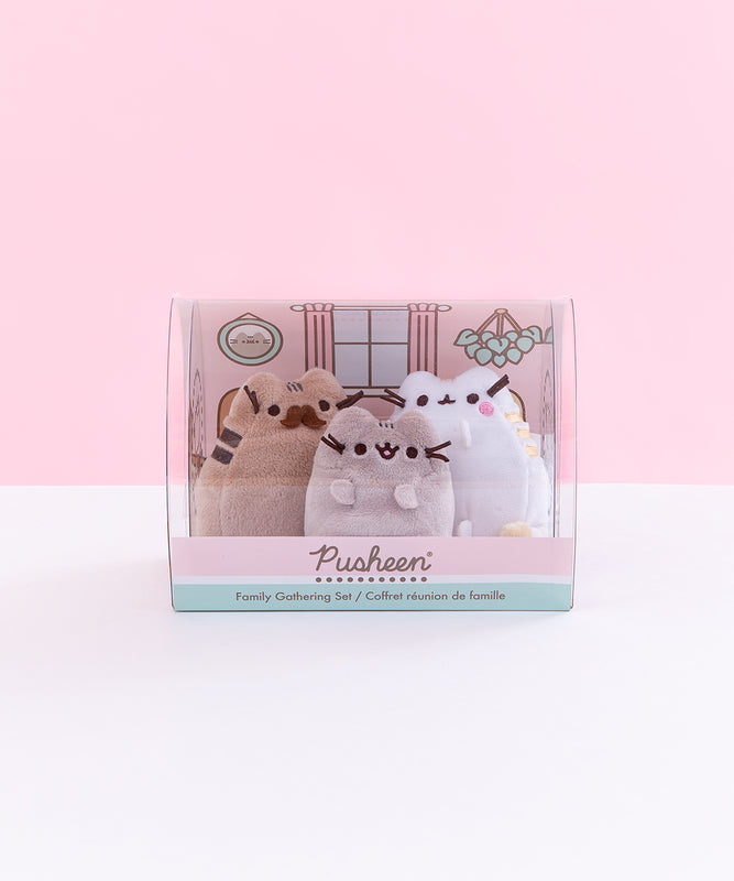 Pusheen Family Gathering Plush Figurine Set