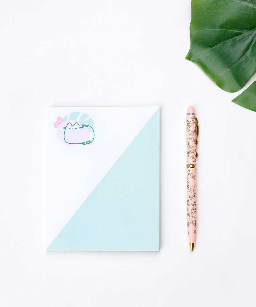Pusheen Greenery Notepad